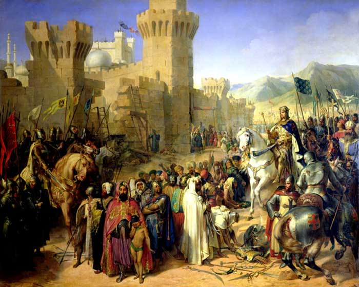 a report on the four crusades of the christians and the childrens crusade during the middle ages